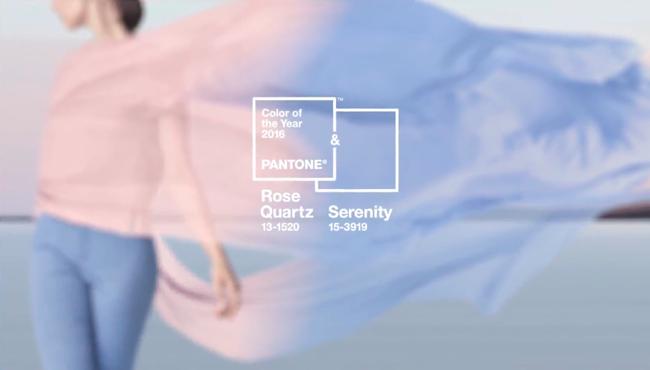 Pantone elege as cores de 2016