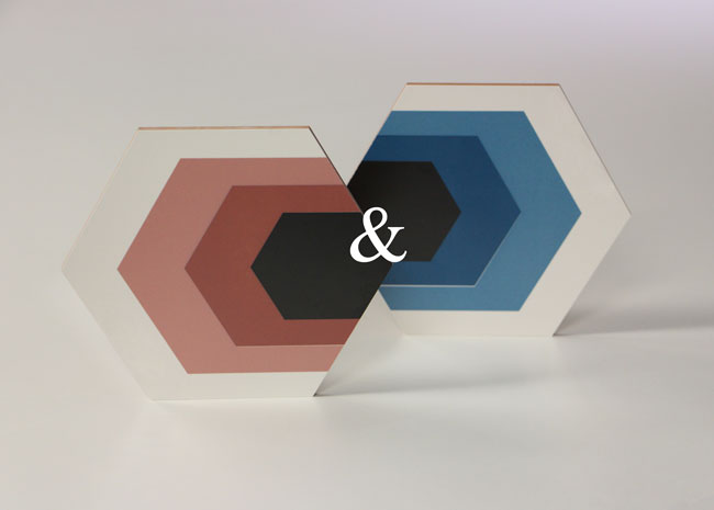 Rose Quartz Serenity azulejo geometrico hexagonal Decortiles