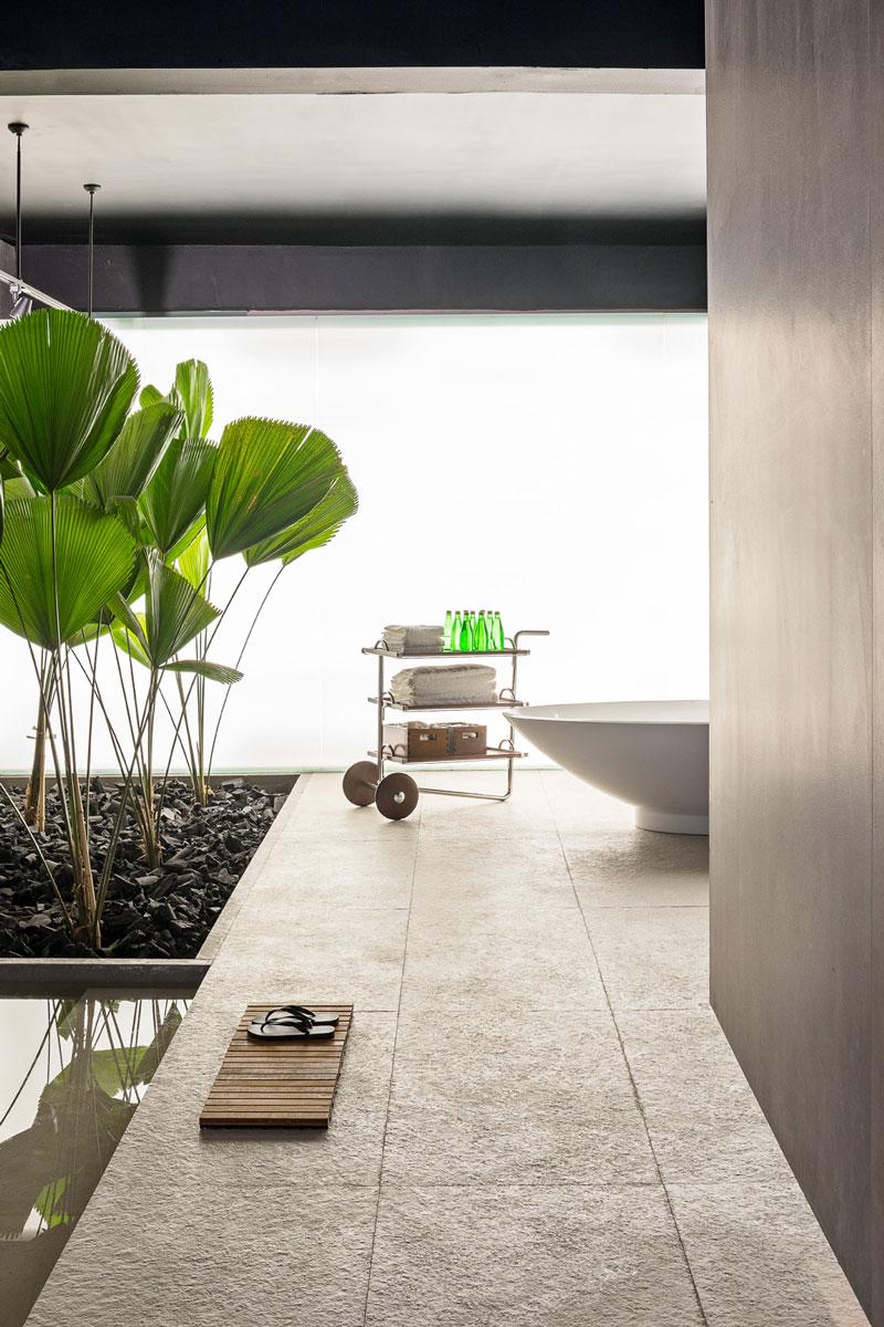 Porcelanatos Decortiles na Sala de Banho por Priscila Gabriel