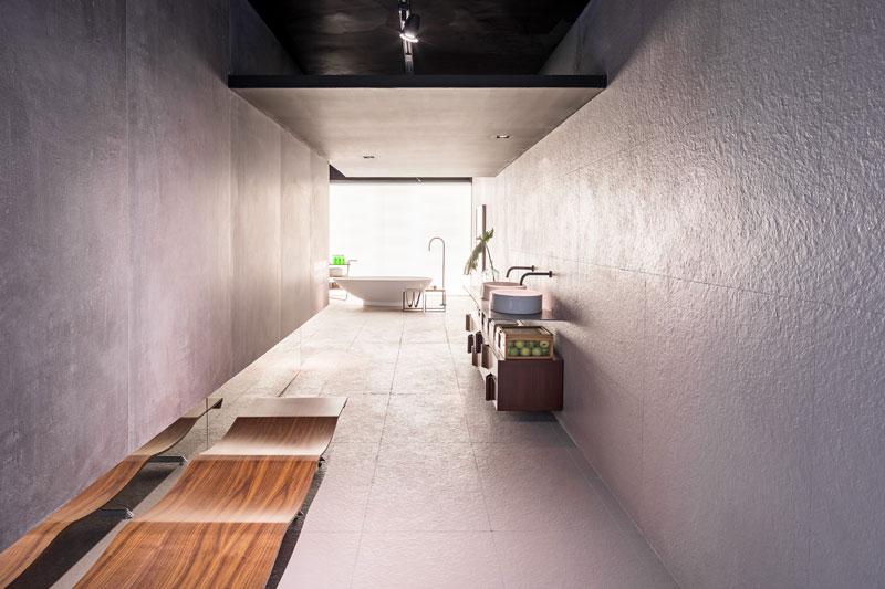 Sala de Banho por Priscila Gabriel para CasaCor Brasília 2017