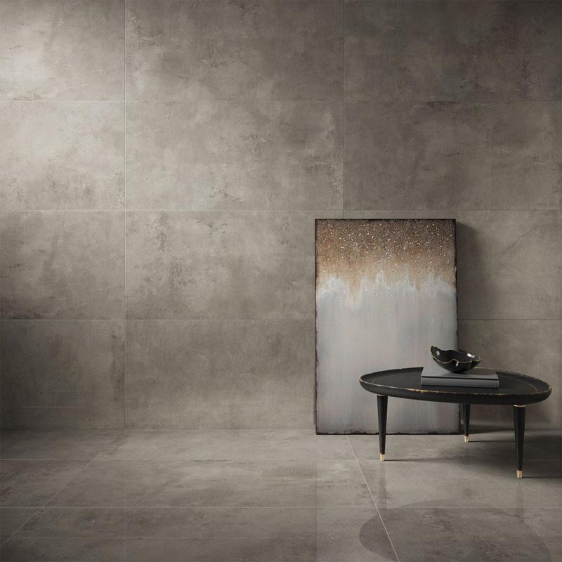 porcelanato com efeito de cimento decortiles-concreto-aparente-po-59x118,2cm