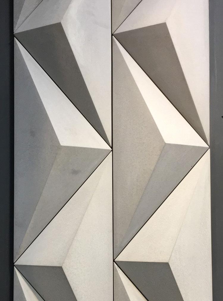 revestimento cimentício decortiles artesanal triângulo 1 lançamento 2018
