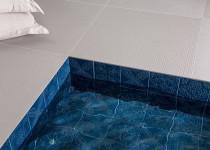 revestimento twenty deluxe decortiles azul para piscinas