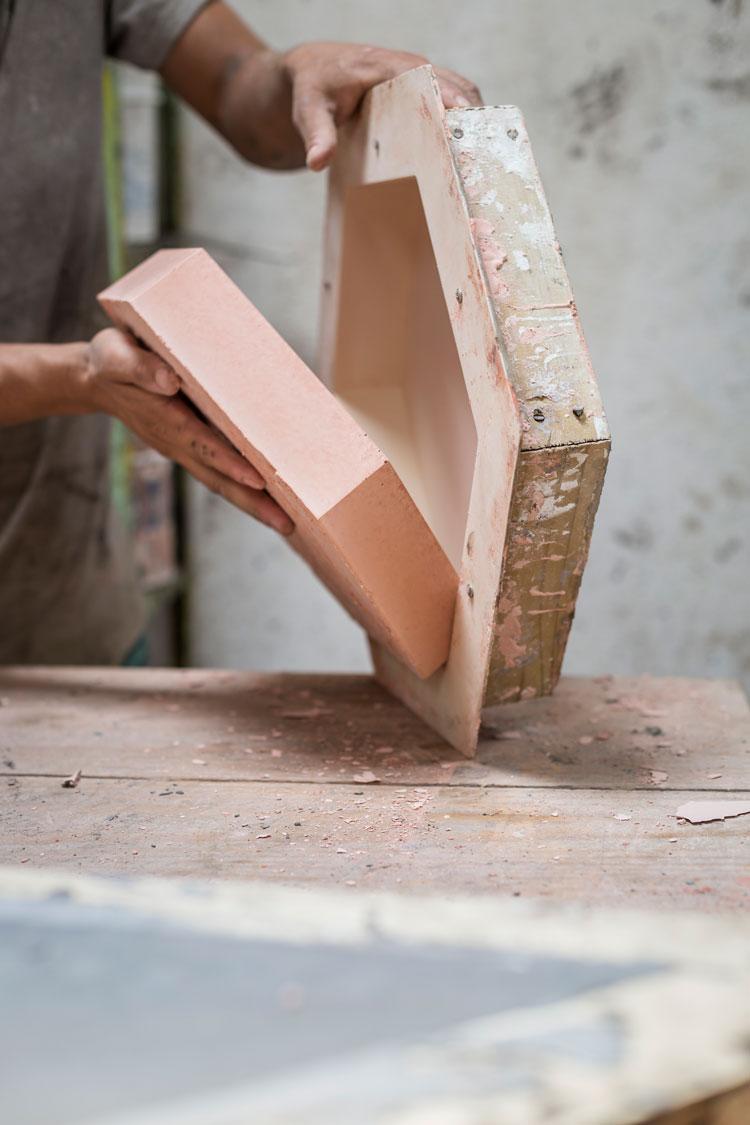 1 o encantador processo de produção dos revestimentos cimentícios Decortiles