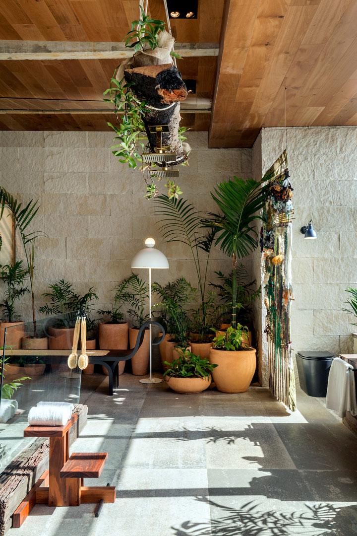 5 Aldeia Sala de Banho - W. Leão Ogawa e Heitor Arrais - Porcelanato Haus Decortiles
