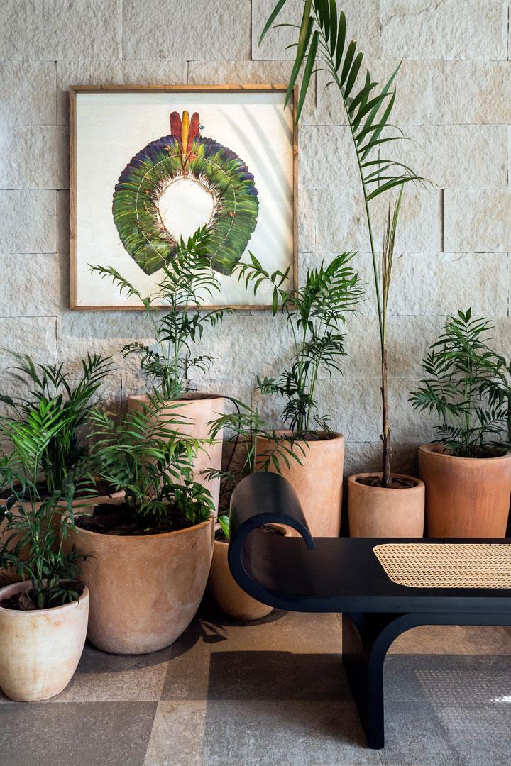 6 Aldeia Sala de Banho - W. Leão Ogawa e Heitor Arrais - Porcelanato Haus Decortiles