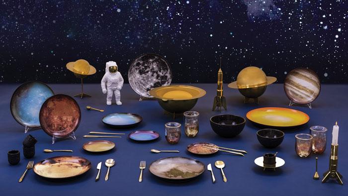 pratos cosmic diner by seletti e diesel living