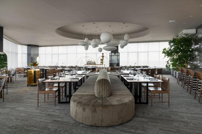 restaurant por Leo Romano para casacor goiás 2018