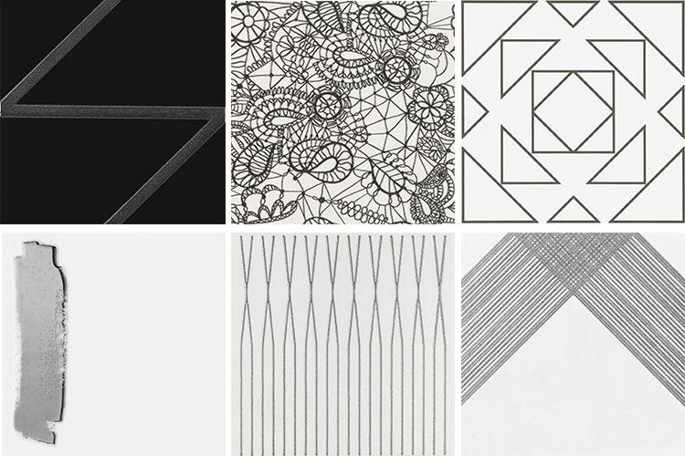 7 azulejos prata decortiles