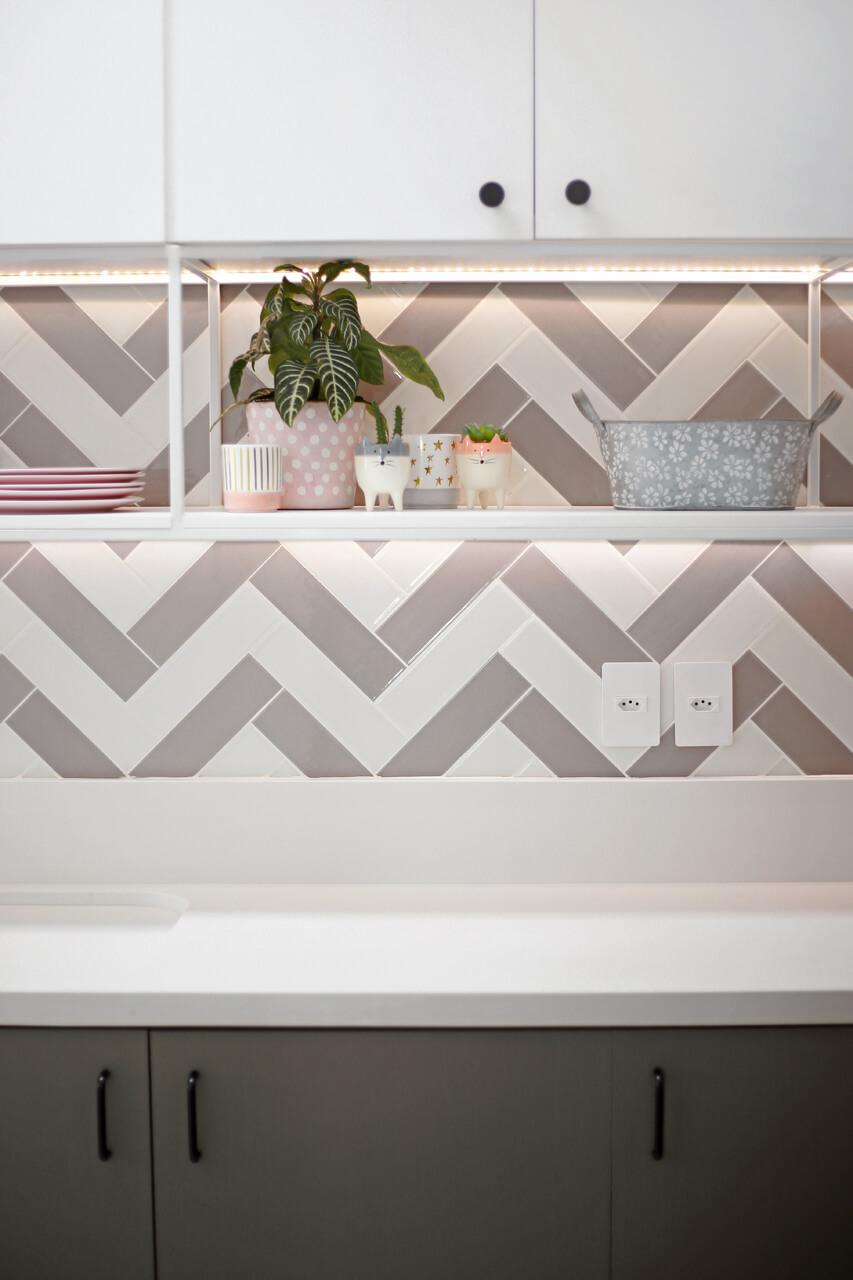 colorsoul decortiles azulejos em chevron na cozinha blogueira flávia linden