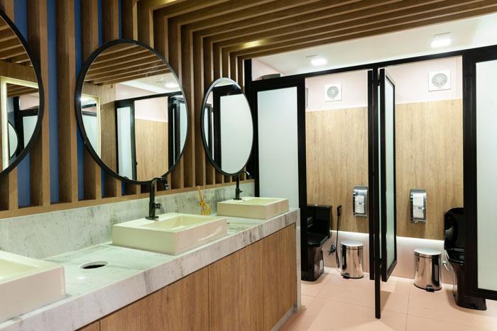 2 lavabo rose gold decortiles projeto Fernando Pandolfi