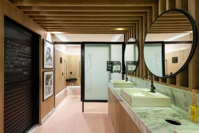 7 lavabo rosa projeto Fernando Pandolfi