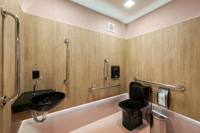 8 lavabo rosa com revestimentos decortiles projeto Fernando Pandolfi