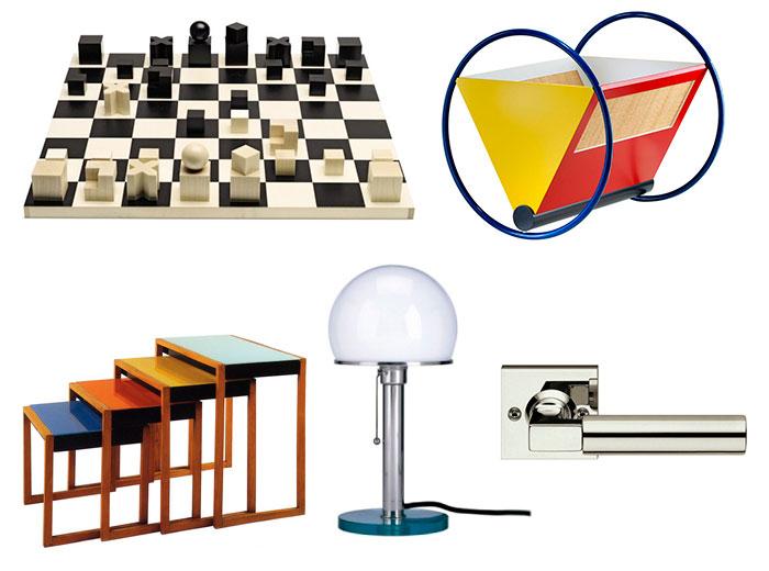 produtos desenvolvidos na escola bauhaus