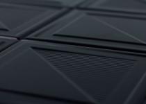 azulejo quadrado texturizado decortiles fold black