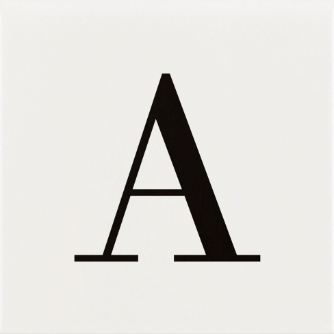 Letter A AC